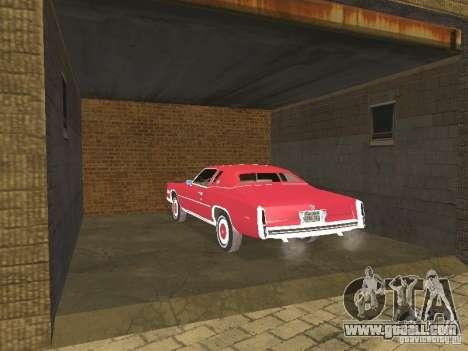 Cadillac Eldorado for GTA San Andreas side view