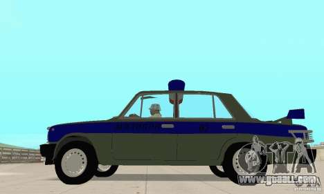 VAZ 2101 Police for GTA San Andreas right view