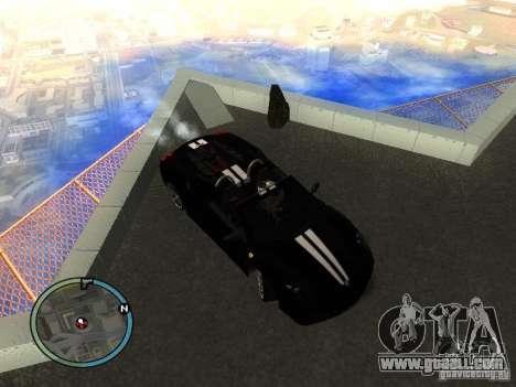Ferrari F430 Scuderia M16 2008 for GTA San Andreas inner view
