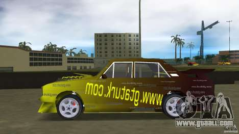 Anadol GtaTurk Drift Car for GTA Vice City left view