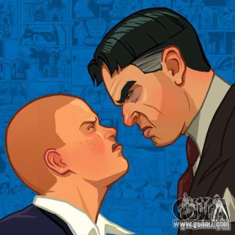 Zakruzočnye screens Bully Scholarship Edition for GTA San Andreas third screenshot