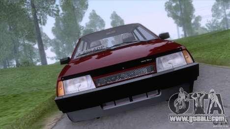 VAZ 2109 Drain Final for GTA San Andreas back left view