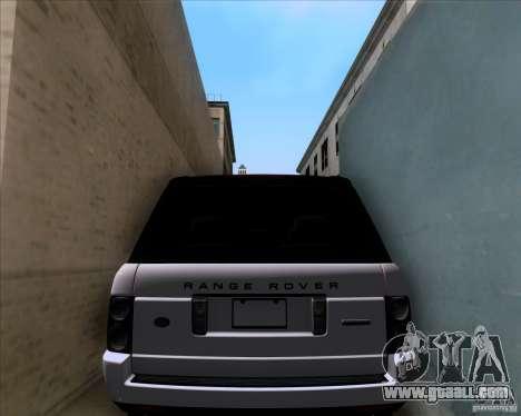 Range Rover Hamann Edition for GTA San Andreas side view