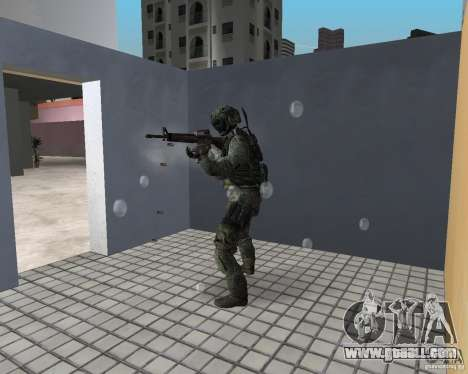 Frost from CoD MW3 for GTA Vice City forth screenshot
