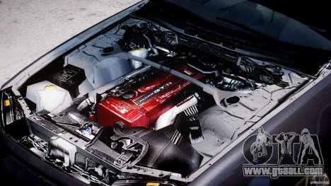 Nissan Skyline GT-R 34 V-Spec for GTA 4 side view