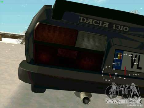 Dacia 1310 Sport for GTA San Andreas back view