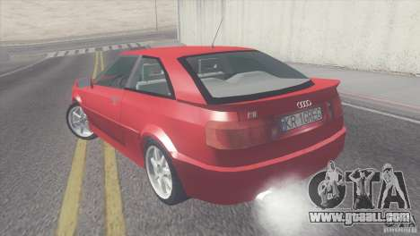 Audi S2 for GTA San Andreas left view