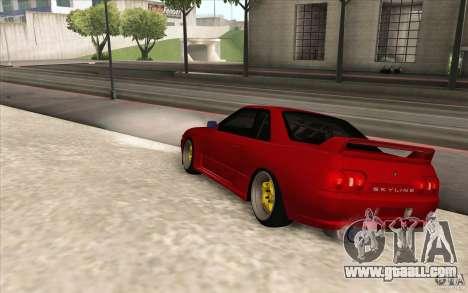 Nissan Skyline GTR-32 StanceWork for GTA San Andreas left view