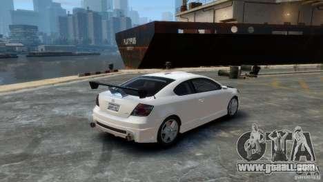 Toyota Scion for GTA 4 left view