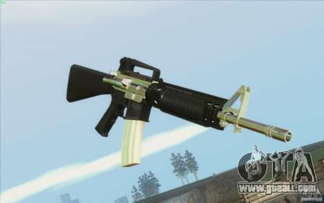 Low Chrome Weapon Pack for GTA San Andreas second screenshot