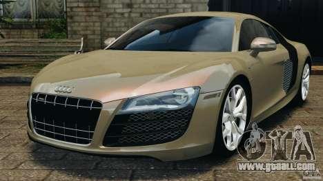Audi R8 V10 2010 for GTA 4