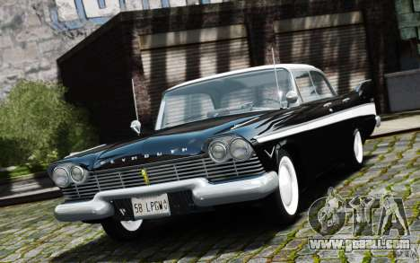 Plymouth Belvedere Sport Sedan 1957 for GTA 4