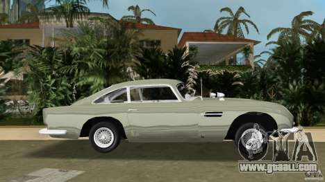 Aston Martin DB5 63-54 (JAMES BOND) for GTA Vice City left view