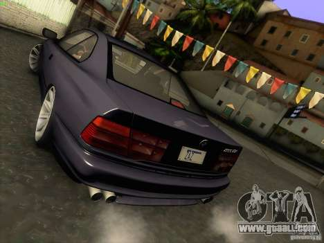 BMW 850 CSI for GTA San Andreas upper view