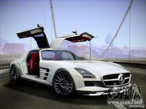 Mercedes-Benz SLS AMG for GTA San Andreas right view