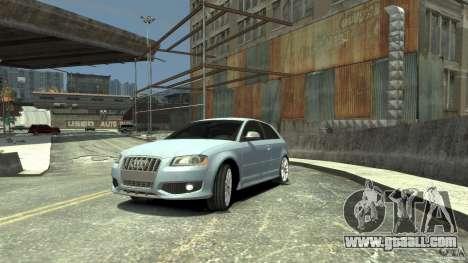 Audi S3 2009 for GTA 4