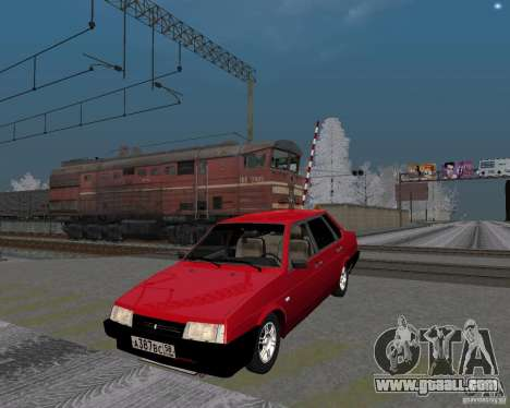 VAZ 21099 Satellite for GTA San Andreas