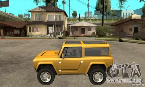 Ford Bronco Concept for GTA San Andreas left view