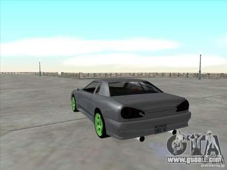 Elegy Full VT v1.2 for GTA San Andreas back view