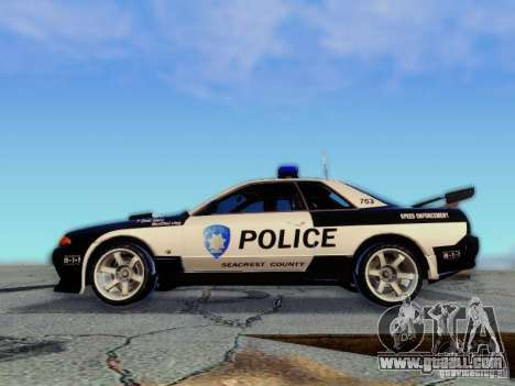 Nissan Skyline R32 Police for GTA San Andreas right view
