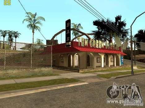 New Bar Ganton v.1.0 for GTA San Andreas second screenshot