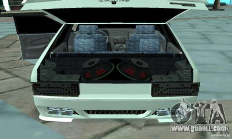 ВАЗ 2114 Tuning for GTA San Andreas back view