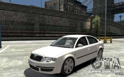 Skoda SuperB for GTA 4