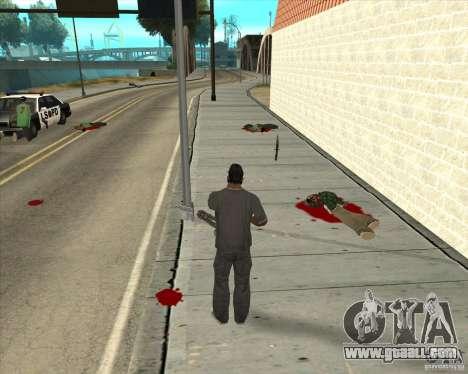 Real Ragdoll Mod Update 02.11.11 for GTA San Andreas fifth screenshot