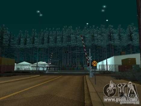 Forest in Las Venturas for GTA San Andreas third screenshot