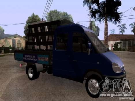 Gazelle 33023 for GTA San Andreas right view