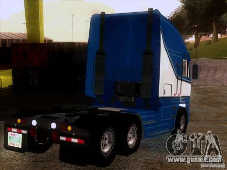 Freightliner Argosy Skin 1 for GTA San Andreas right view