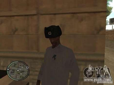 Ushanka for GTA San Andreas second screenshot