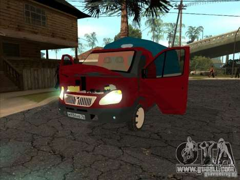 3302 Gazelle for GTA San Andreas right view