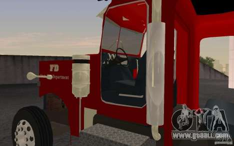 Peterbilt 379 Fire Truck ver.1.0 for GTA San Andreas left view
