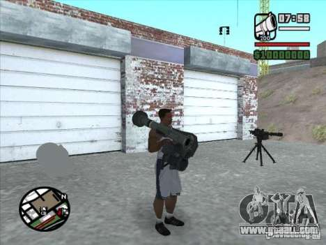 FGM-148 Dževlin for GTA San Andreas third screenshot