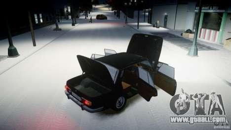 Wartburg 353 W Deluxe for GTA 4 inner view
