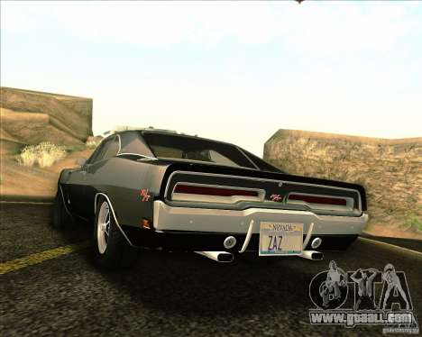 Dodge Charger RT 1969 for GTA San Andreas side view