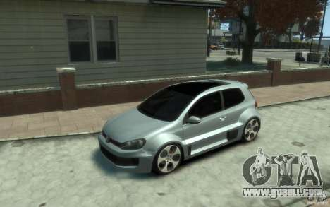 Volkswagen Golf W12-650 for GTA 4