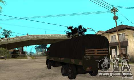 DFT-30 Brazilian Army for GTA San Andreas back left view
