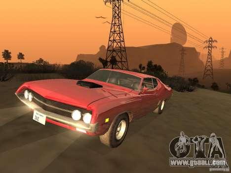 Ford Torino Cobra 1970 Tunable for GTA San Andreas