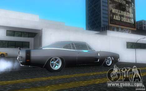 Dodge Charger RT 69 for GTA San Andreas right view