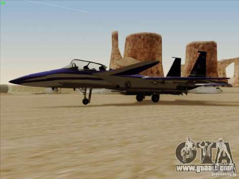 F-15 SMTD for GTA San Andreas left view