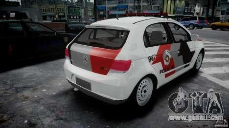 Volkswagen Gol G5 PMSP [ELS] for GTA 4 side view