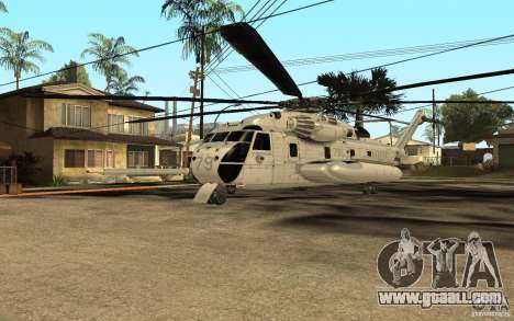 CH 53E for GTA San Andreas left view