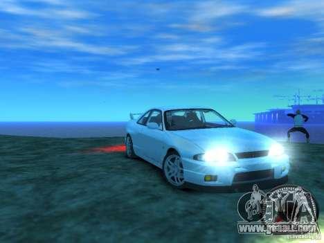 Nissan Skyline GT-R V-Spec (R33) 1997 for GTA 4 back view