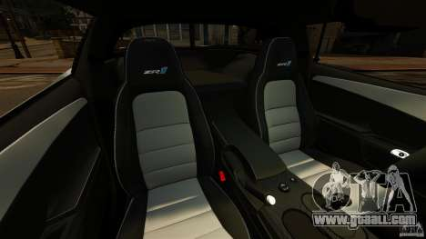 Chevrolet Corvette ZR1 Police for GTA 4 inner view
