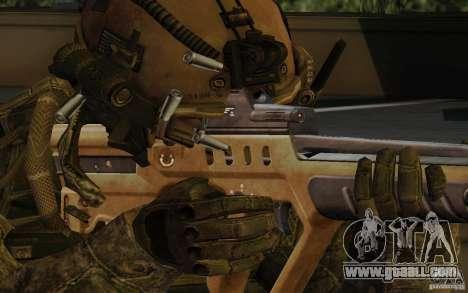 Tavor Tar-21 Desert for GTA San Andreas third screenshot