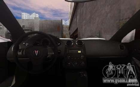 Pontiac G6 for GTA 4 bottom view