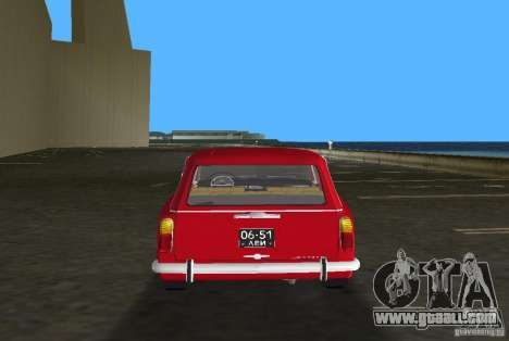 VAZ 2102 for GTA Vice City inner view