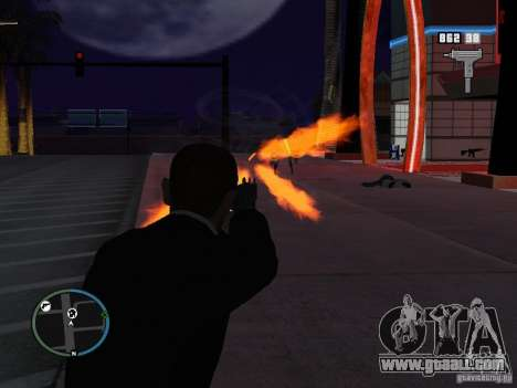 Close aim for GTA San Andreas